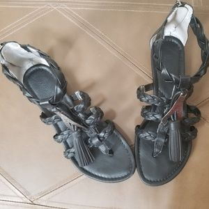 Ellen Tracy Black Sandals